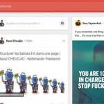 Une nouvelle version pour Google Plus